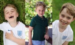 Cung điện Kensington công bố 3 bức hình mới tuyệt đẹp của Hoàng tử George mừng sinh nhật 6 tuổi