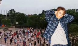 Trường cấp 3 chọn vũ điệu 'gãy tay' của Sơn Tùng làm nhạc nền cho tiết thể dục