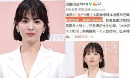 Song Hye Kyo bất ngờ vượt lên top 1 tin hot nhờ câu nói đậm chất 'phó mặc' trong quá khứ