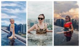 Trang Pháp, MLee, Băng Di, Thuỳ Anh khoe body mướt mắt khi diện bikini tại Singapore