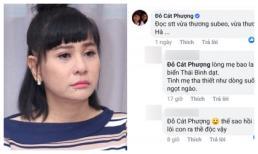 'Vuốt' status về Subeo của Hà Hồ, Cát Phượng bị anti fan mắng thẳng: 'Thế sao ngày xưa cô mang con ra thề độc?'
