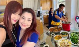 Hiền Mai và Hàn Thái Tú qua thăm biệt thự của Thanh Thảo tại Mỹ, thưởng thức đồ ăn 'nhà trồng được'