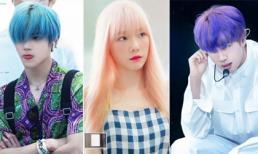 'Chấp hết' các màu tóc khó nhằn, những thần tượng này là định nghĩa của từ cực phẩm