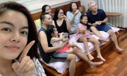 Muốn biết 'Về nhà đi con' hot cỡ nào, hãy nhìn cảnh 3 thế hệ nhà Phạm Quỳnh Anh quây quần mỗi tối