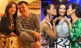 Sau khi tiết lộ đã ly hôn Quang Minh, Hồng Đào giữ nụ cười trên môi khi dẫn chương trình