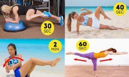 10 bài tập giúp giảm mỡ bụng cực hiệu quả chỉ tốn 10 phút mỗi ngày