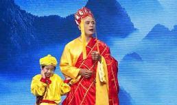 Hari Won 'phát cuồng' trước cặp cha con 'Thầy trò Đường Tăng' cực đáng yêu