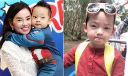 Loạt ảnh đáng yêu 'lụi tim' của con trai Ly Kute khi đi chơi cùng ông bà