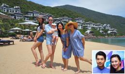 Đi du lịch cùng gia đình, tình cũ Trương Nam Thành khoe cận mặt con trai đáng yêu