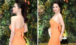 Hoa hậu Thanh Thúy gây bất ngờ với vòng eo đẹp nhất làng mỹ nhân Việt