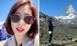 Trải nghiệm ở Thụy Sĩ khiến Park Shin Hye không thể nào quên