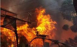 Cháy phòng trọ khóa trái ở Sài Gòn, 2 em bé tử vong
