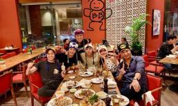 Qua bão scandal, Trương Thế Vinh vui vẻ cùng hội 'Chạy đi chờ chi' mừng sinh nhật Jun Phạm