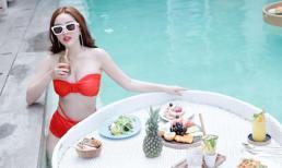 Bảo Thy diện bikini nóng bỏng khi đi du lịch ở Bali