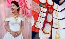 Góc của hồi môn: Cô dâu ở Trà Vinh gây choáng khi được trao hơn 1 ký vàng trong ngày cưới