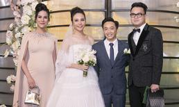 Dàn sao Việt hùng hậu đến chúc mừng hôn lễ Cường Đô la và Đàm Thu Trang