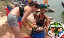 Hoa hậu Kỳ Duyên không ngại khoe bụng mỡ, thừa nhận photoshop ảnh