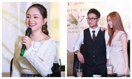 'Chồng' và 'em gái mưa' cùng nhau đến chung vui trong buổi họp fan của Lan Phương
