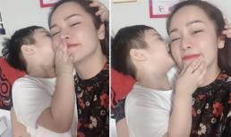 Nhật Kim Anh đợi 7 tiếng đồng hồ chỉ để được gặp con trai