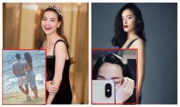 Trong ngày cưới Cường Đô la, 2 mảnh tình cũ phản ứng bất ngờ: Hà Hồ hạnh phúc bên Kim Lý, Hạ Vi đăng ảnh cô đơn