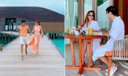 Vợ chồng Lý Hải 'trốn con' đi hâm nóng tình cảm tại 'Thiên đường' Maldives