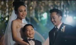 Đàm Thu Trang khoe clip hiếm hoi một nhà ba người, hứa hẹn: 'Hành trình chỉ mới bắt đầu, sẽ thật hạnh phúc'