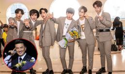 Nhóm nhạc trẻ theo hình mẫu BTS ra mắt showbiz Việt 'gây sốt' khi giả giọng Mr Đàm - Tùng Dương