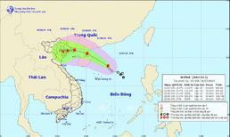 Bão số 3 giật cấp 11 có thể đổ bộ vào các tỉnh Quảng Ninh và Nam Định