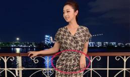 Hoa hậu Jennifer Phạm than tăng cân, lộ vòng hai lùm lùm dấy nghi án mang bầu lần 4