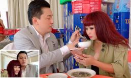 Lam Trường đút cho Phương Thanh ăn, dân mạng lo vợ nam ca sĩ sẽ ghen