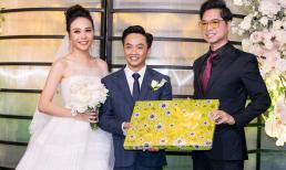 Không cần thắc mắc, Ngọc Sơn đã chịu tiết lộ về món quà cưới đã tặng cho Cường Đô La - Đàm Thu Trang