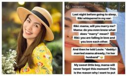 Tăng Thanh Hà khoe được cầu hôn lần nữa nhưng đối phương lại khiến chồng cô khó cạnh tranh
