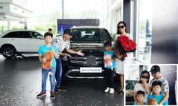 Lâm Vỹ Dạ bật khóc khi được Hứa Minh Đạt tặng xế hộp tiền tỉ nhân kỉ niệm 9 năm ngày cưới