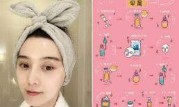 Phạm Băng Băng tiết lộ 28 bước làm đẹp để có được làn da hoàn hảo