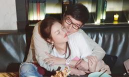 Nathan Lee hôn má Lý Nhã Kỳ khi được cô tổ chức sinh nhật cho