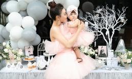 Nhân sinh nhật tròn 1 tuổi, Trà Ngọc Hằng lần đầu công khai hình ảnh của con