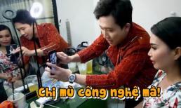 Trấn Thành hài hước 'xóa mù công nghệ', hướng dẫn Cẩm Ly livestream