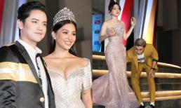Tiểu Vy gợi cảm sánh đôi cùng mỹ nam Thái Lan, Phương Nga được người yêu chăm chút trên thảm đỏ Hoa hậu Thế giới Việt Nam