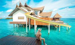 Vũ Khắc Tiệp ở villa 150 triệu/đêm tại thiên đường du lịch Maldives