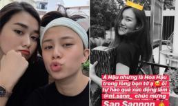 Bạn thân Tường San giành danh hiệu Á hậu 2 Hoa hậu Thế giới Việt Nam, Bảo Hân 'Về nhà đi con' gửi lời chúc mừng