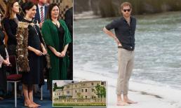 Ưa lối sống xa hoa, Meghan cùng Harry tới khách sạn 5 sao mát xa và chăm sóc móng chân