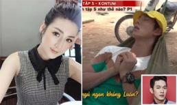 Sao Việt 5/8/2019: Tú Anh vài lần 'rơi não' vớ nhầm hộp kem hăm của con bôi lên mặt; Song Luân bị chụp lén tư thế ngủ khác người
