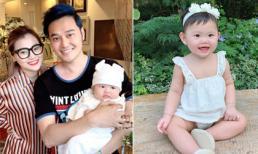 Cháu gái Quang Vinh xinh như búp bê