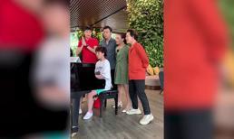Dàn ngũ ca 'Về nhà đi con' khiến fan thích thú khi đàn và hát 'Cô bé mùa đông'