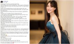 Hòa Minzy lại nói về việc tạm dừng nghệ thuật: 'có lẽ 4,5 tháng nữa hoặc sang năm mới hoạt động lại'