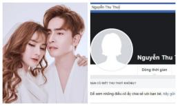 Trong tâm bão scandal, Thu Thủy gỡ ảnh bìa 'gia đình hạnh phúc', xóa avatar bên Kin Nguyễn