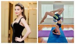 Khoe thân hình săn chắc với tư thế yoga cực đỉnh, Hà Hồ tiết lộ bí quyết trẻ mãi không già
