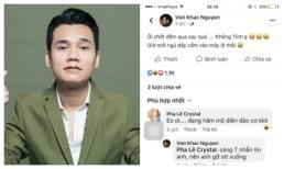 Khắc Việt bất ngờ xoá status 'đá xéo' vợ chồng Thu Thuỷ, tiết lộ được đàn em nhờ