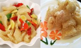 Các món ăn chế biến từ da lợn đơn giản nhưng đưa cơm phải biết