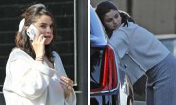 Đeo nhẫn khủng ở ngón áp út nhưng Selena Gomez lại bị soi mặc áo trái xuống phố